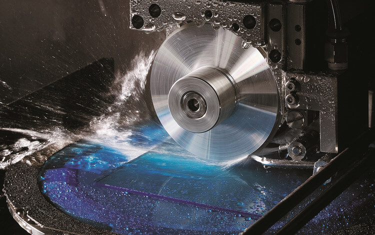 Wafer Dicing by diamond blade - dicing-grinding service